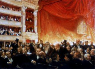 театр опера этикет 19 век